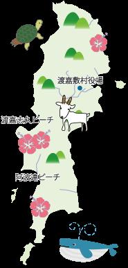 渡嘉敷島 地図